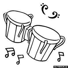 Drawn instrument percussion instrument Pages de instrument 14 Percussion