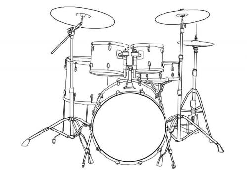 Drawn instrument percussion instrument Bobbi drums Percussion Grade 6th