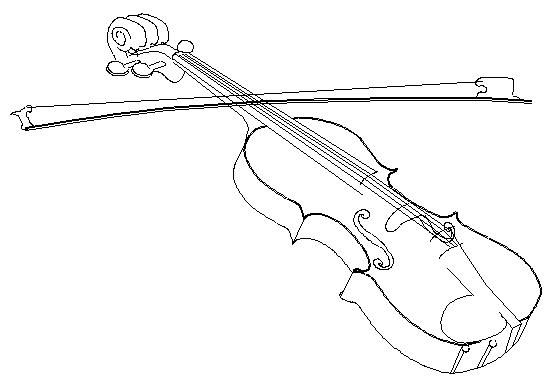 Drawn instrument viola Drawing  of Instrument Gallery