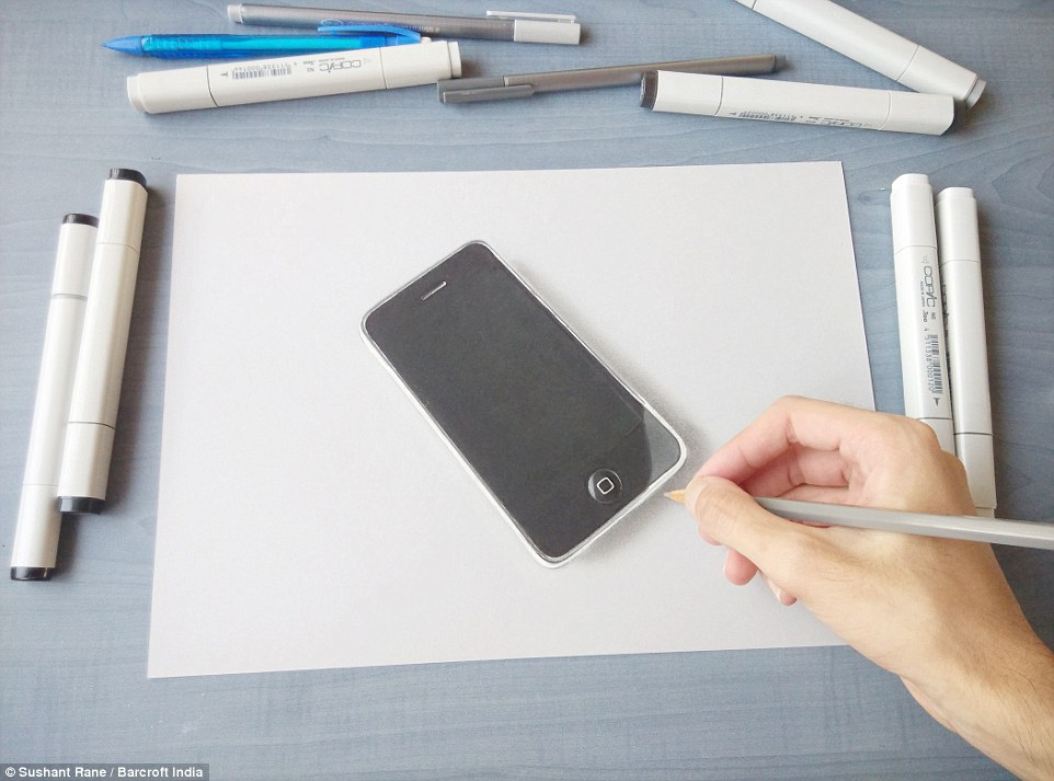 Drawn iphone object A Sushil only hyper have