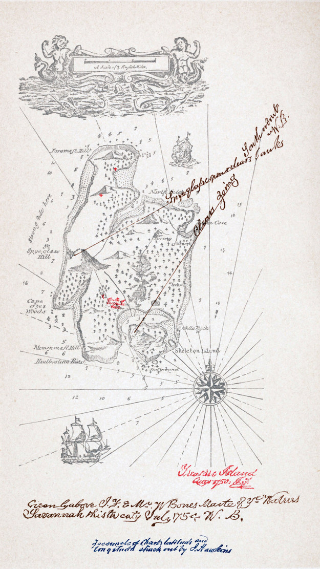 Drawn island real This Island of Robert map