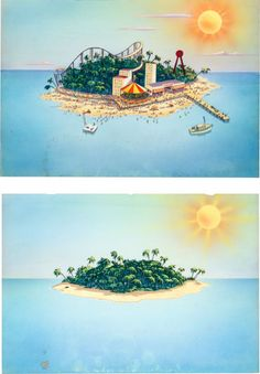 Drawn islet animated Of Lot Hope Heritage Paintings