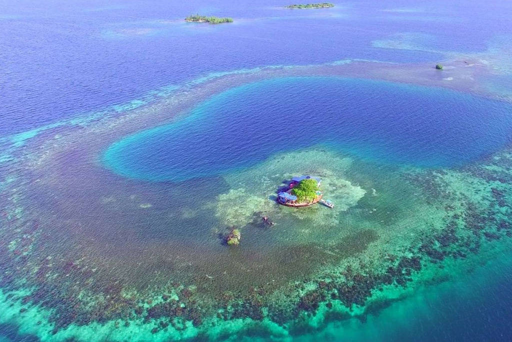 Drawn islet belize Entire Is This 575d7463 Island