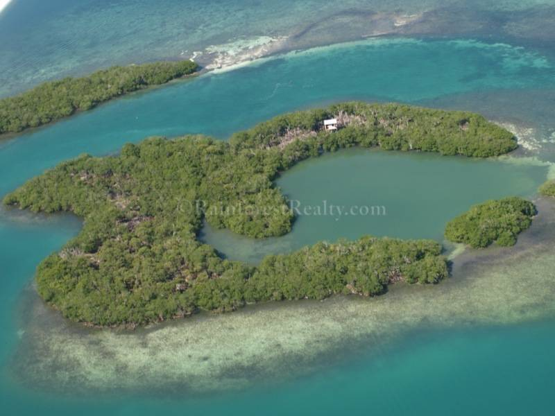 Drawn islet belize Belize Property sale View Island