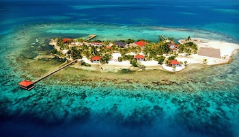 Drawn islet belize Belize (with Beautiful Best Islands