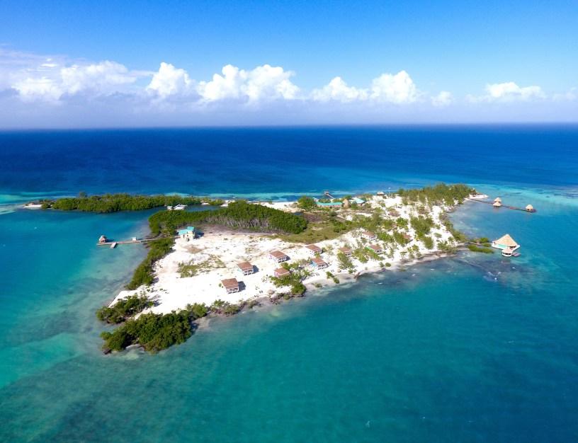 Drawn islet belize Resort Island Belize Blog island