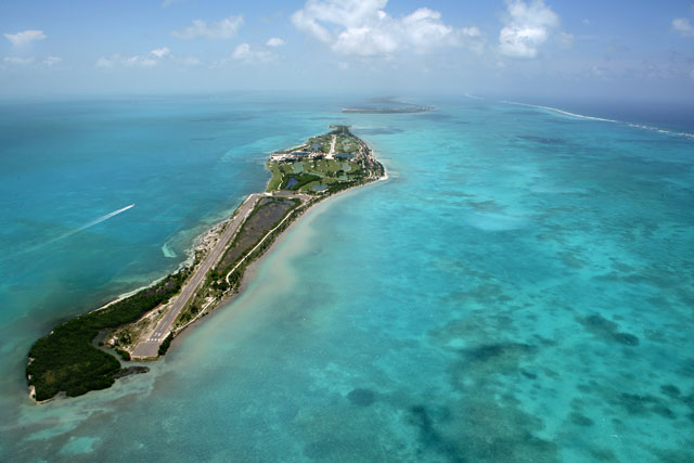 Drawn islet belize The Placencia of Caye Curve: