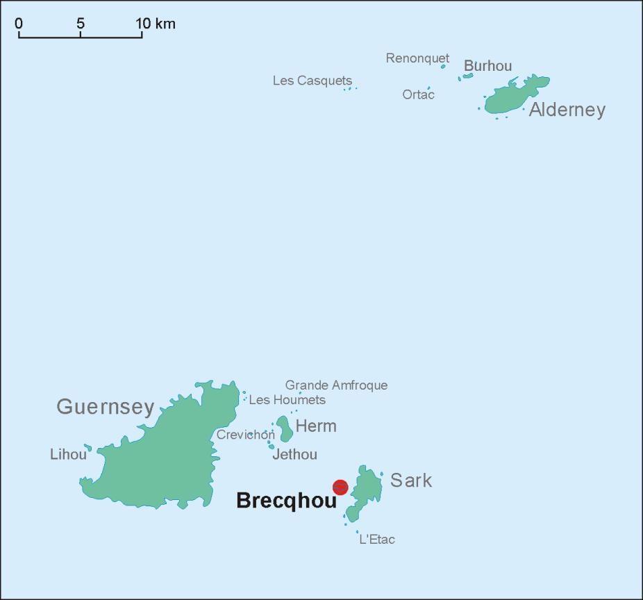 Drawn islet brecqhou Brecqhou Wikipedia