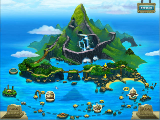Drawn islet pc games Island GameHouse Triazzle gameplay Island