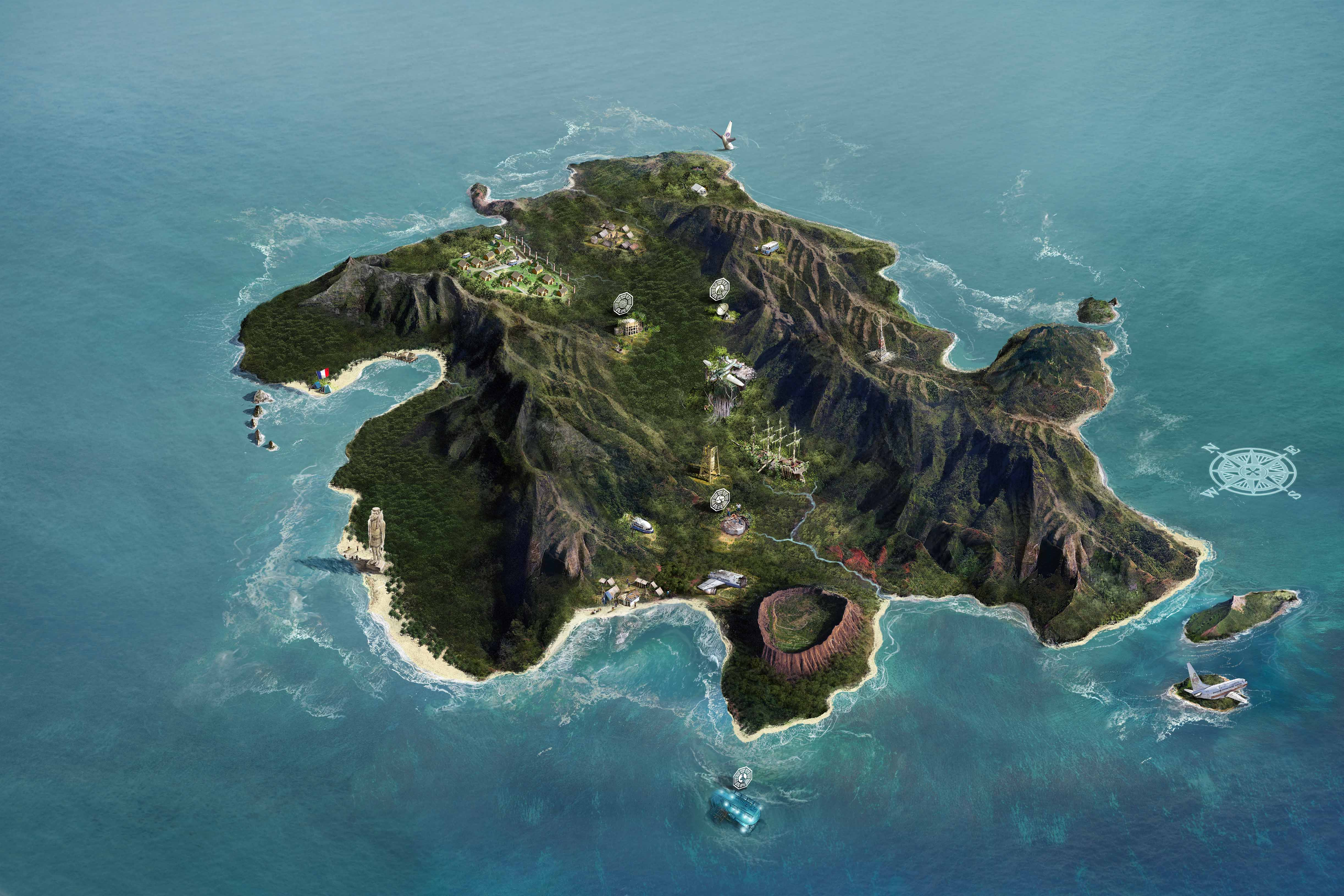 Islet clipart island map Atlas from Island of the