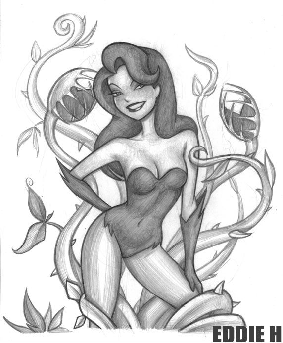 Drawn ivy cartoon Deviantart EddieHolly best Pinterest Poison