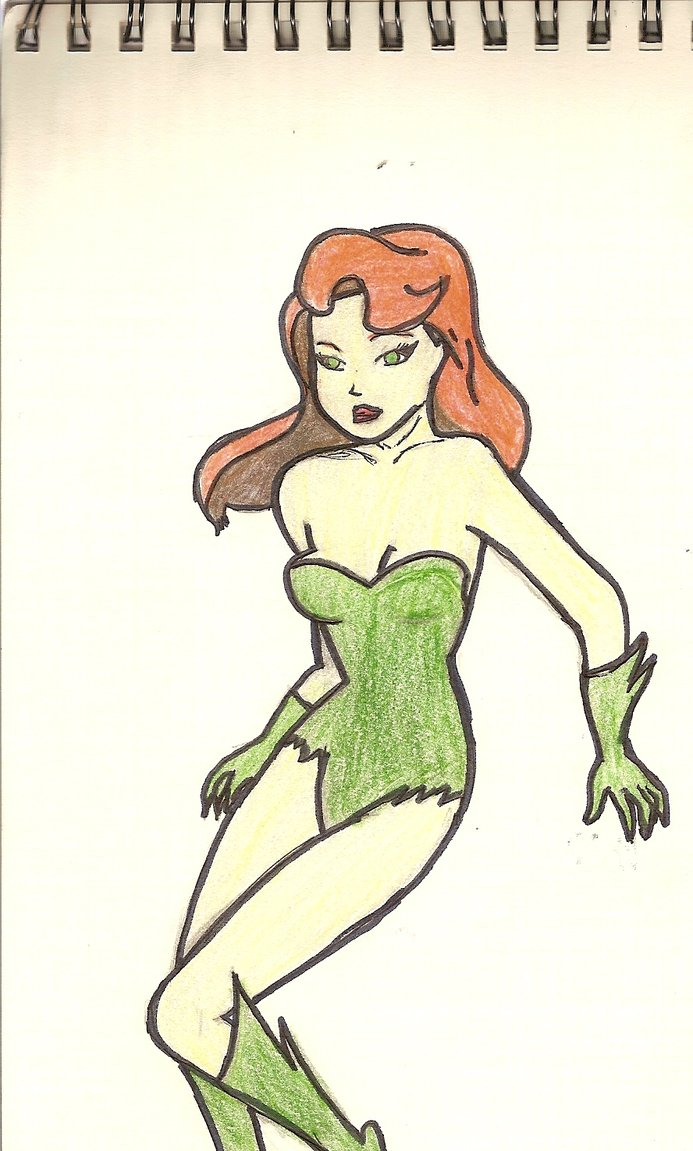 Drawn ivy cartoon AlfredFJones88 by AlfredFJones88 on Poison
