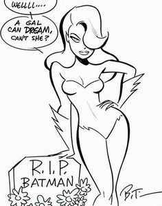 Drawn ivy cartoon Batman: Timm Ivy  by