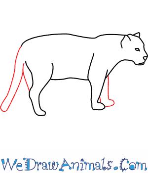 Drawn jaguar #3