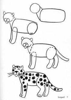 Drawn jaguar easy For Giraffe Kids jaguar To