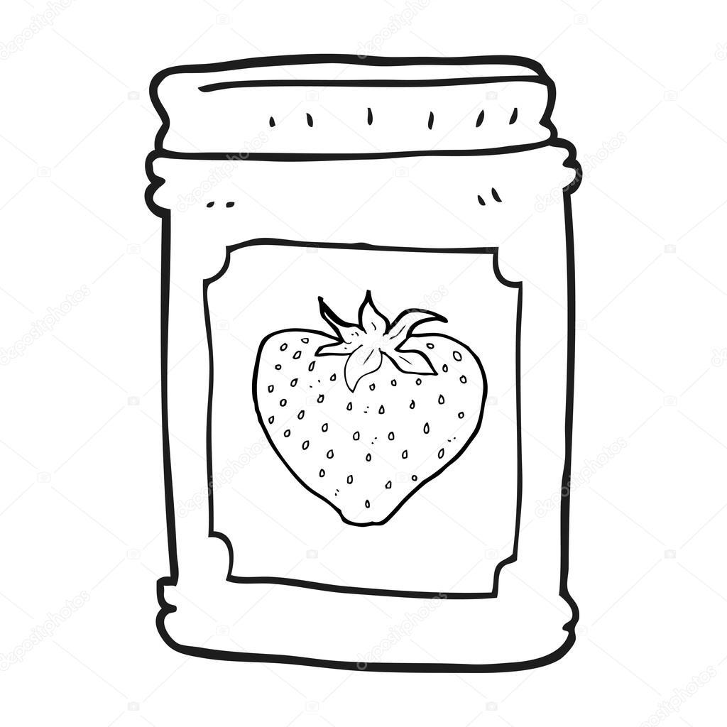 Drawn jam black and white #7
