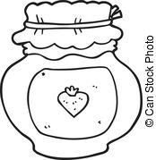 Drawn jam black and white #8