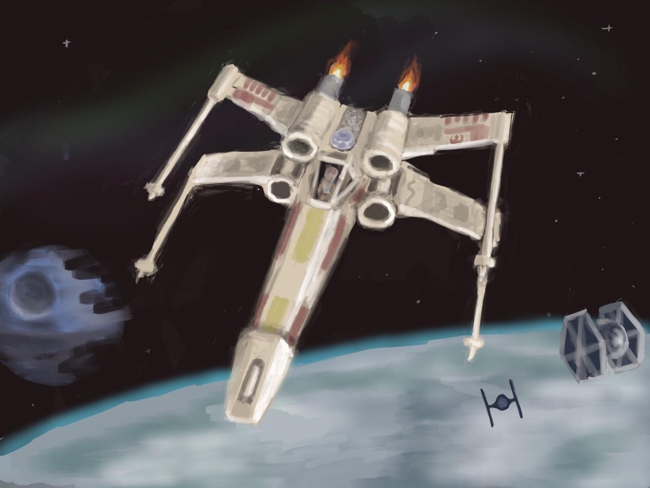 Drawn jam As friend spaceship Vu to