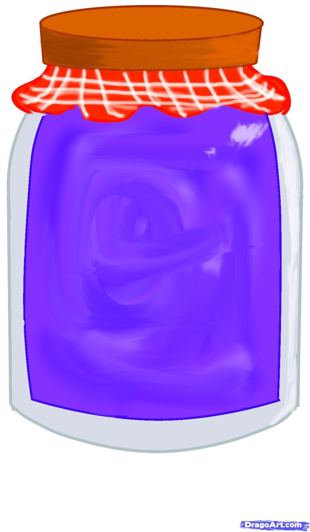 Drawn mason jar How a jar Step to