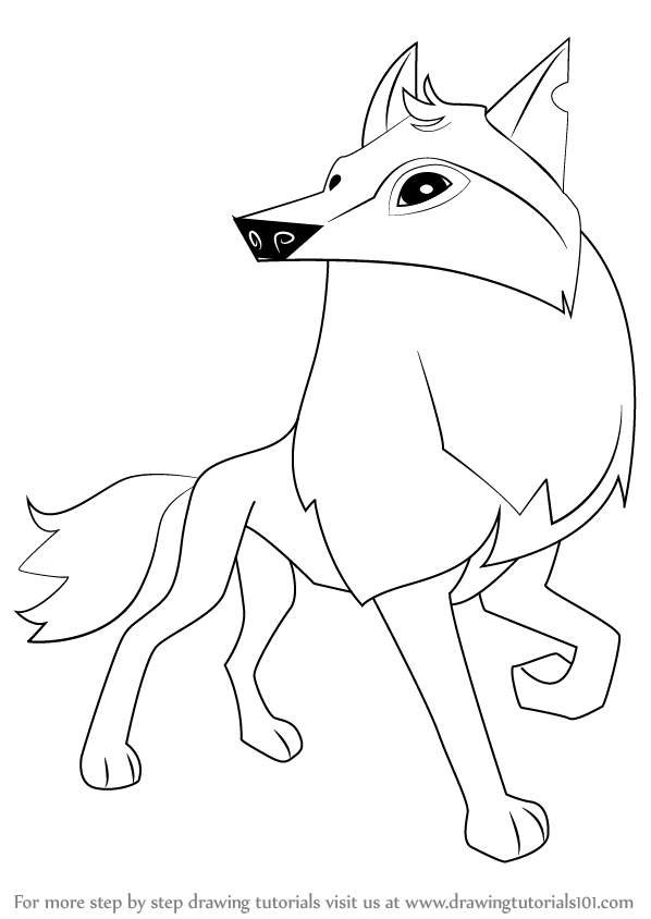 Arctic Wolf clipart simple Step Arctic (Animal Wolf by