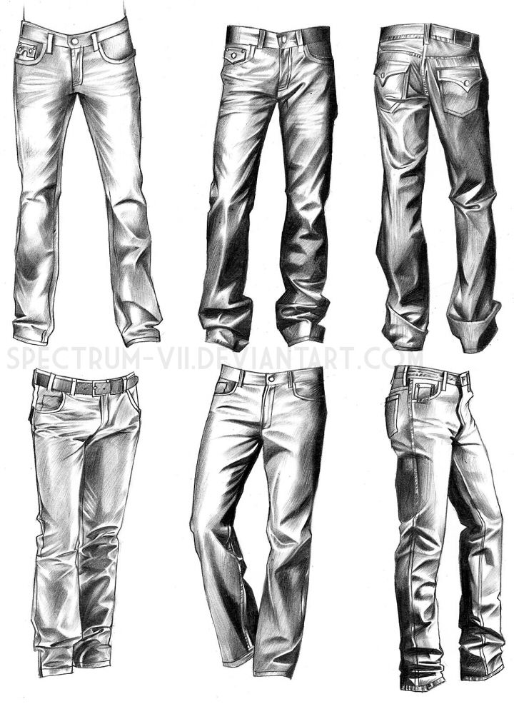 Drawn jeans Drawing Best 20+ VII on
