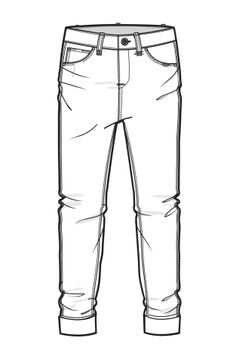 Drawn jeans Pinteres… Style Technical … Drawing