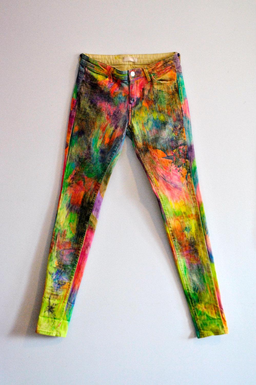 Drawn jeans custom Custom / Jeans Graffiti Bold