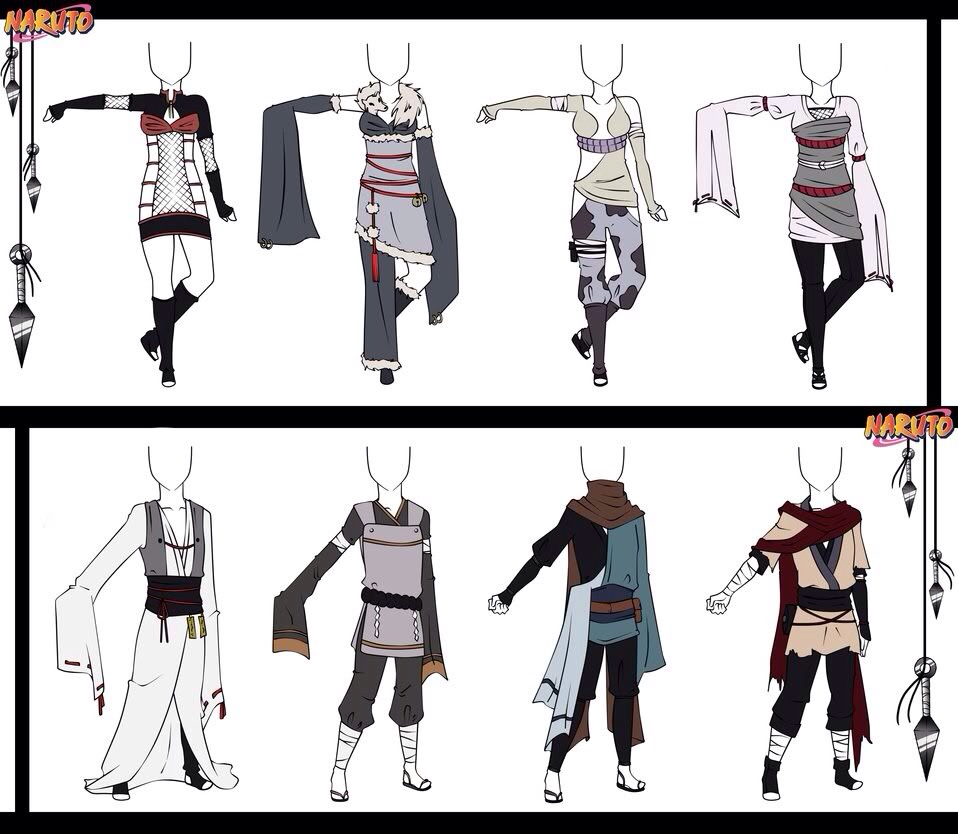 Drawn jeans naruto 14 Set on  by