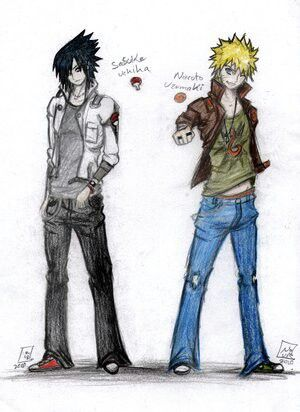 Drawn jeans naruto Pinterest 177 images world on