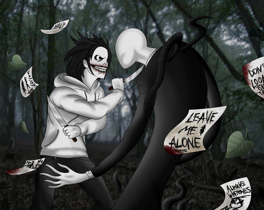 Drawn slenderman jeff the killer David  Dibuja the Killer
