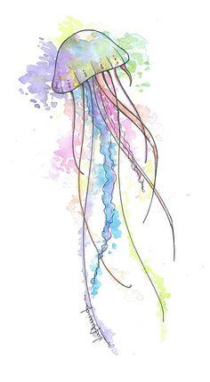 Drawn jellies #7