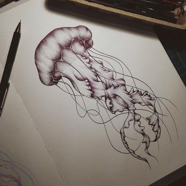 Drawn jellies #12