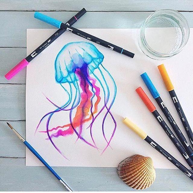 Drawn jellies #14