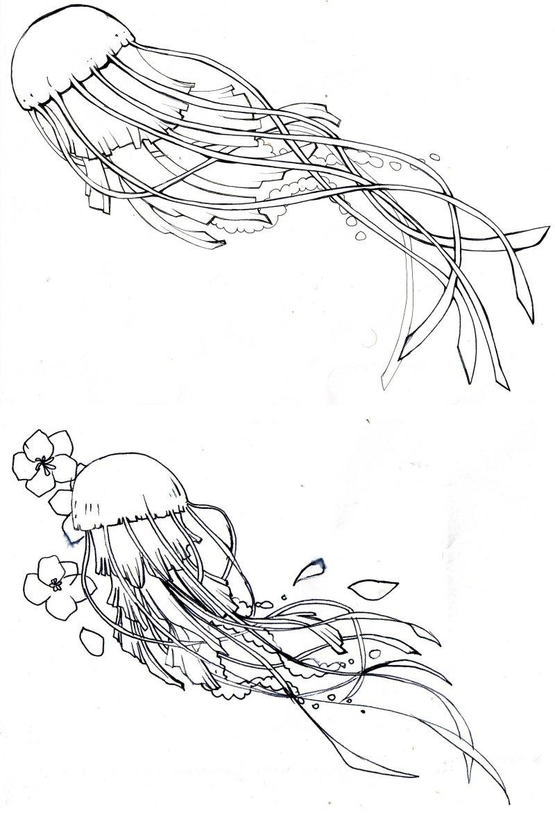 Drawn jellies #15