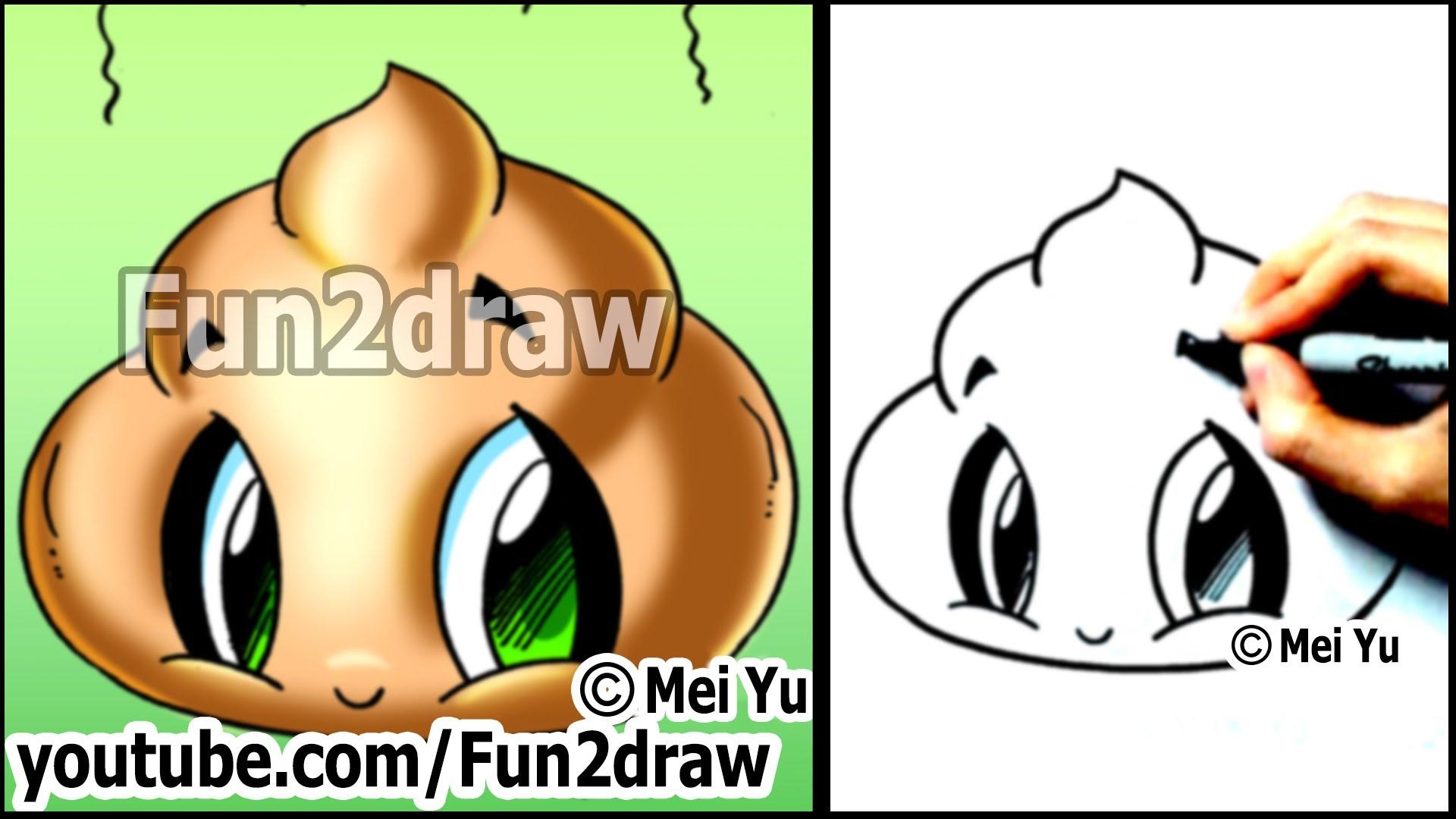 Drawn watermelon fun2draw Funny How YouTube Cute Step