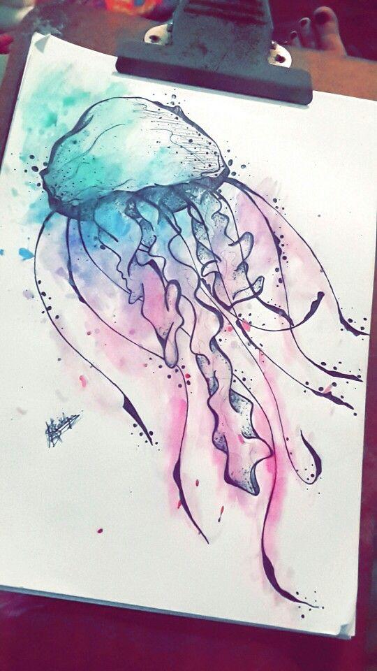 Drawn jellies felted Repin & on Indie Noel