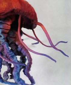 Drawn jellies felted Flickr via Crochet Jelly Cat