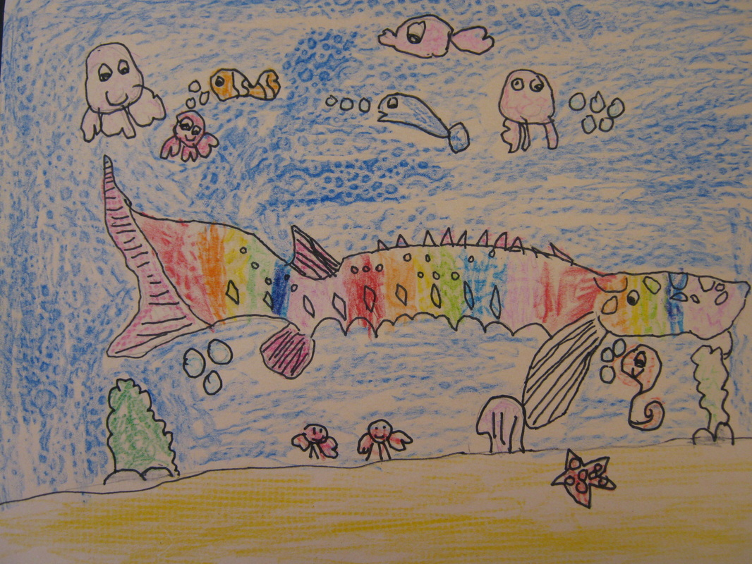 Drawn jellies little fish 3118053_orig jpg Positively Pencil Category: