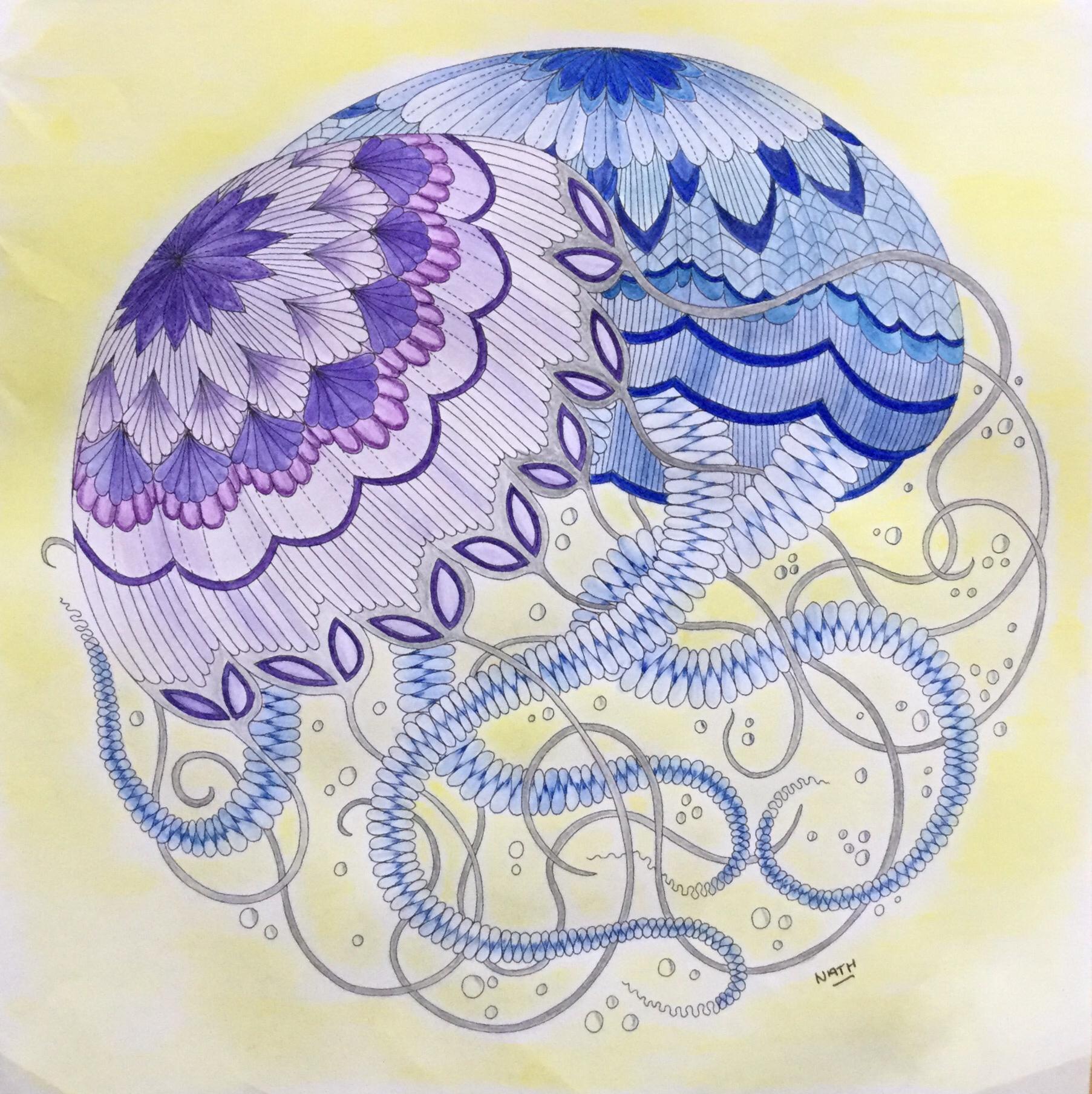 Drawn jellies millie marotta Colouring Pinterest Colouring Colouring Marotta