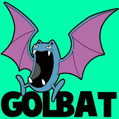 Drawn jellyfish pokemon By Drawing Golbat to How