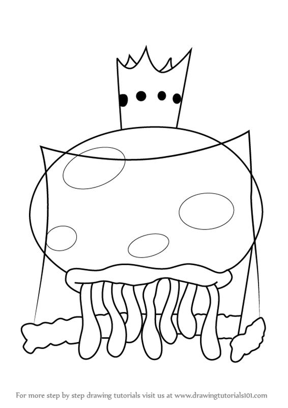 Drawn jellyfish spongebob Draw SquarePants SpongeBob to Draw