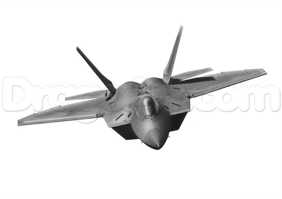 Drawn wars plane Jet Step Airplanes to realistic