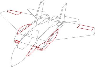 Drawn jet An Jet Planes body the