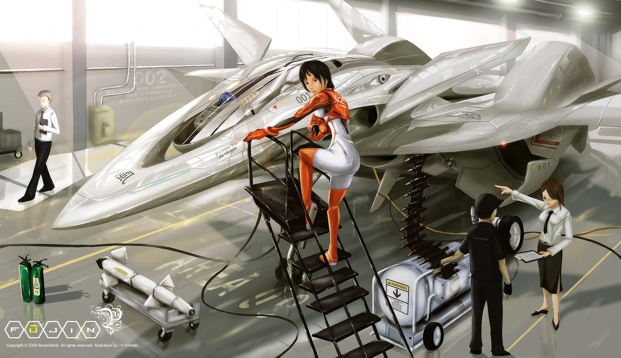 Drawn aircraft airplane pilot Drawing Picture anime illustration illustration