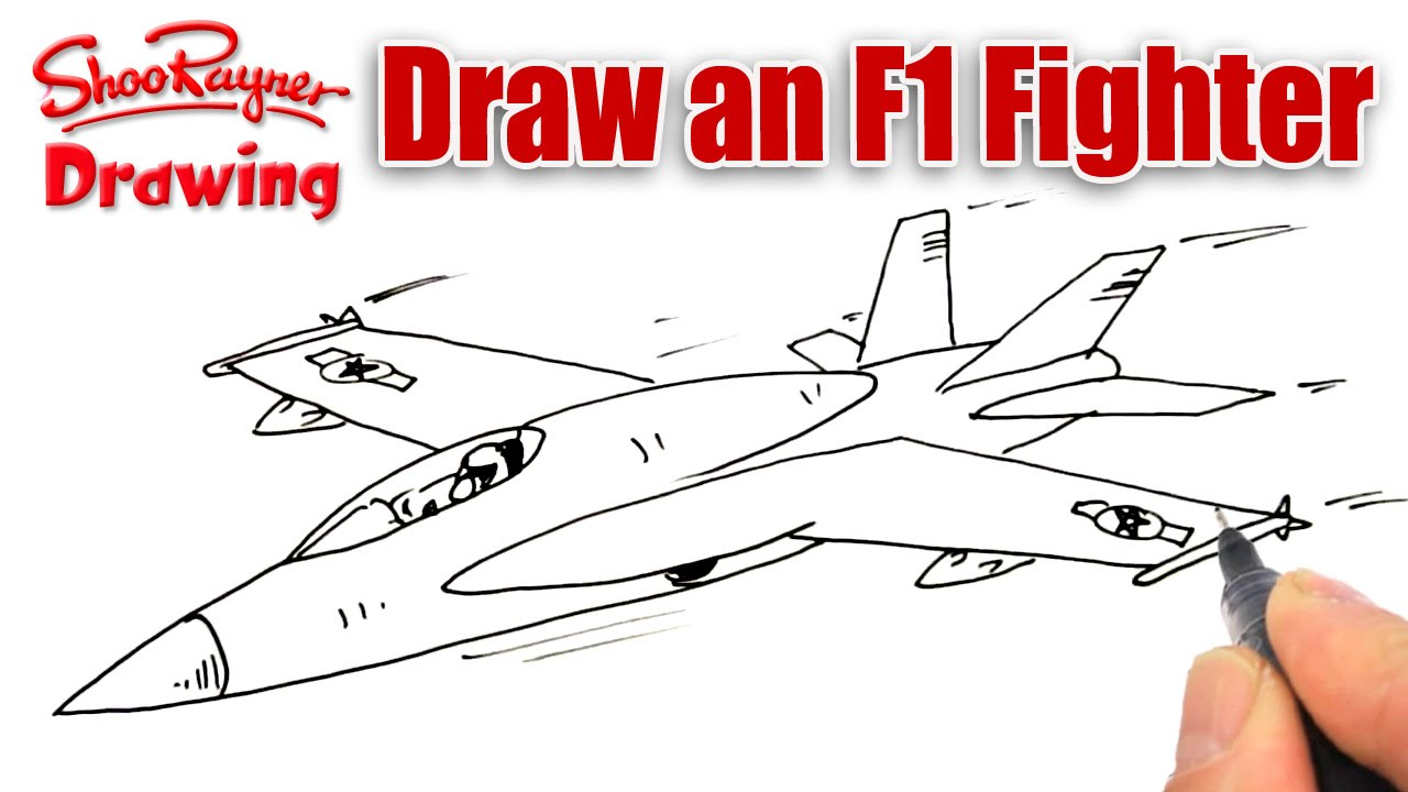 Drawn wars plane Plane YouTube to F Fighter