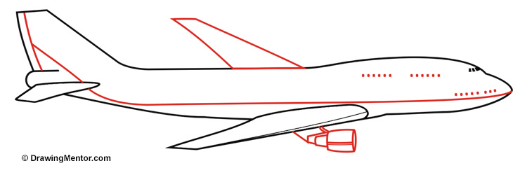 Drawn jet simple Plane a to how Tutorial