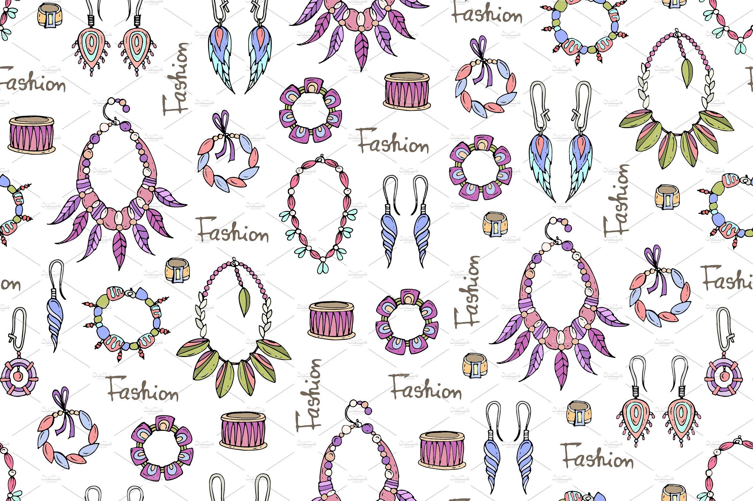 Drawn jewelry #11