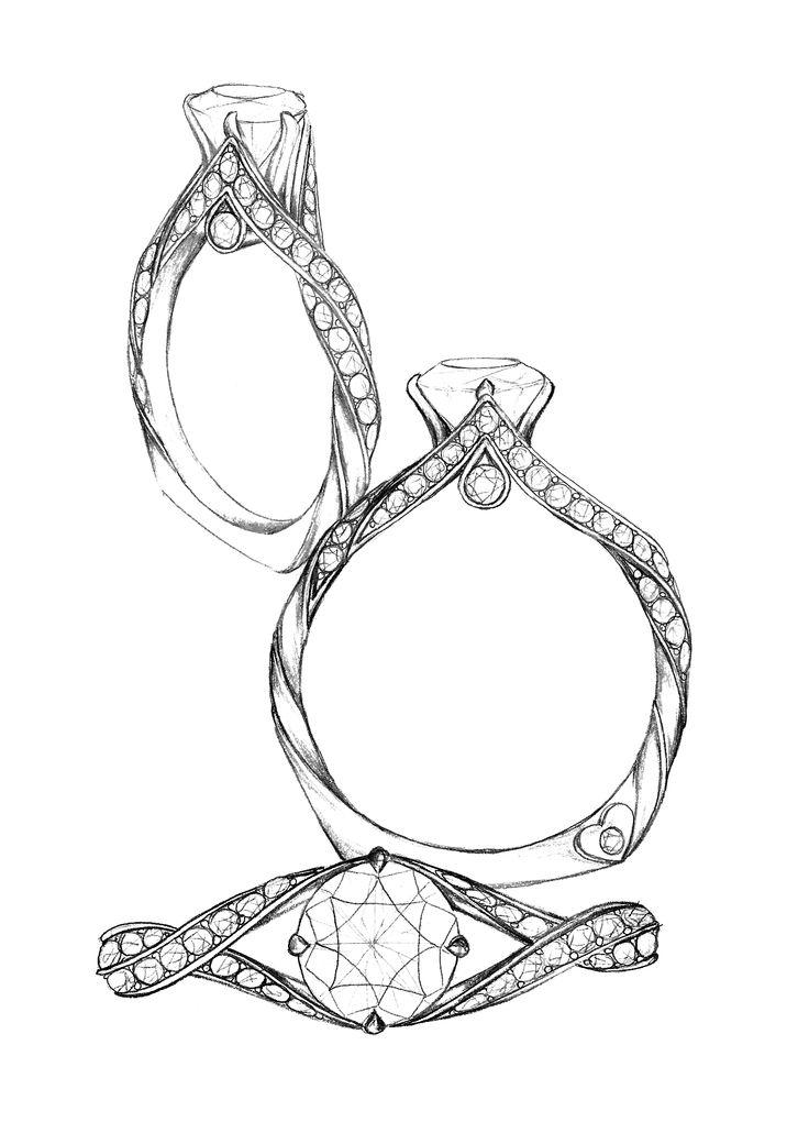 Drawn jewelry #2