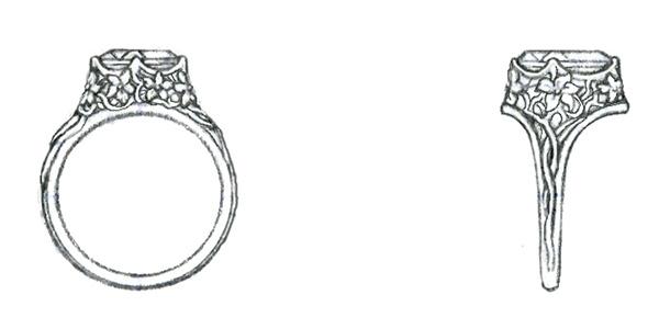 Drawn jewelry #3