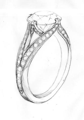 Drawn jewelry diamond ring Pretty Find content/uploads  Image